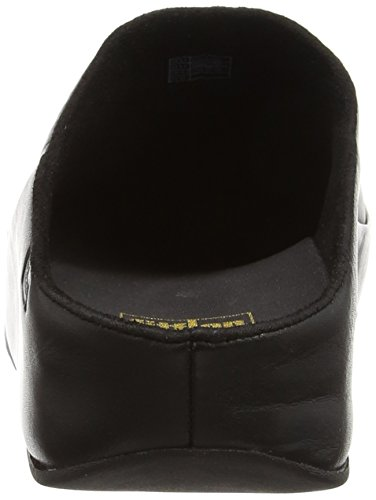 Fitflop Gogh Moc (Leather), Women's Clogs Black (All Black)