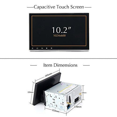 dasaita 10 2 Inch 2din Android 8 1 Universal Double Din Car