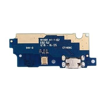 PLANO MUELLE DE CARGA conector del cargador USB CON MICRO ...