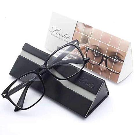 Livh/ò Blue Light Blocking Computer Glasses,Tablet//Gaming//TV//Phones Glasses for Women Men,Anti Eyestrain Filter UV Glare /& Reduce Headache Eyewear Fake Glasses LI8056
