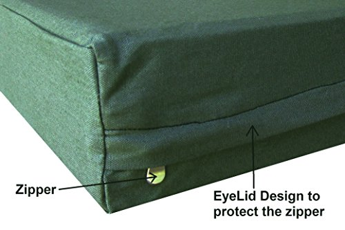 """Dogbed4less Heavy Duty Canvas Duvet Pet Dog Bed Cover 35""""X20"""