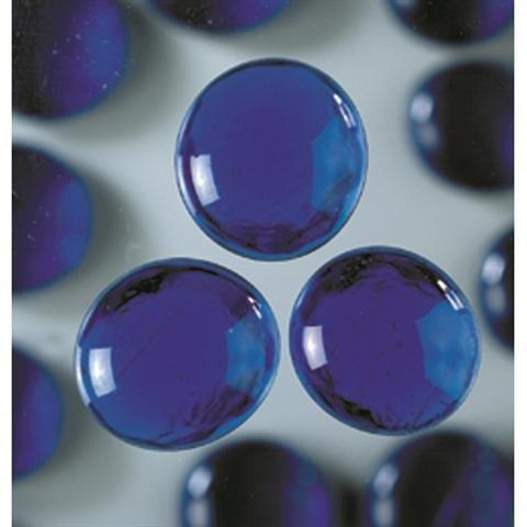 MosaixPro 45-50 mm, 100 g, confezione da 20 pezzi, con pepite, in vetro, colore: blu EFCO 2273548