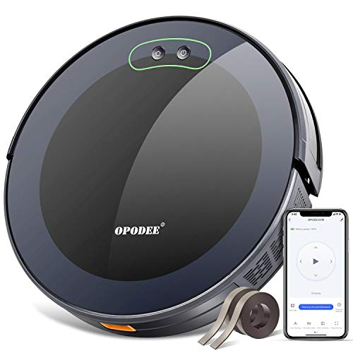 Opodee Robot Vacuum And Mop Cleaner App Control Wifi