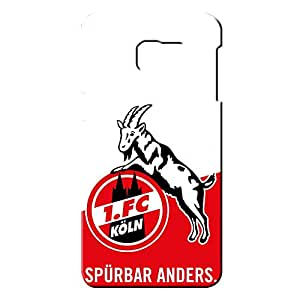 Popular Design FC 1.FC Koln Series Football Club Logo Phone Case Cover For Samsung Galaxy S6edge&plus 3D Plastic Phone Case