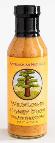 Appalachian Naturals Wildflower Honey Dijon Dressing--BPA-Free Crab Salad Dressing