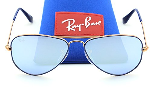 Ray-Ban RJ-9506S 264/1U AVIATOR JUNIOR Mirror Sunglasses, - Ray Ban Baby Sunglasses