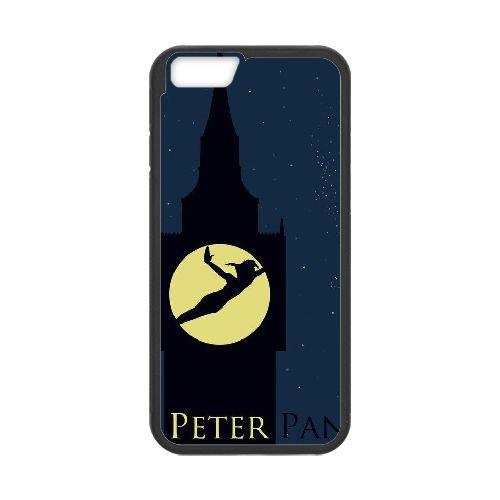 Peter Pan 005 coque iPhone 6 Plus 5.5 Inch Housse téléphone Noir de couverture de cas coque EEEXLKNBC19435
