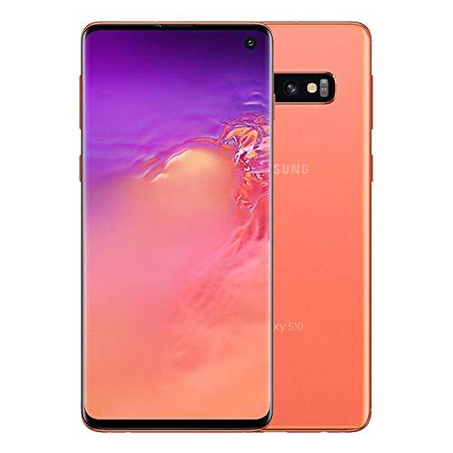 Samsung Galaxy S10, 128GB, Flamingo Pink - Fully Unlocked (Renewed)