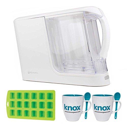 Aquasana AQ-CWM-P-W Clean Water Machine, Mugs and Ice Cube Tray by Aquasana