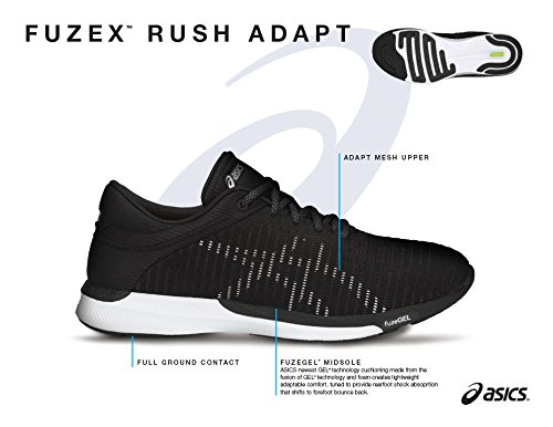 Asics FuzeX Rush Adapt Professional Women s Running Shoes 53e63fb5866