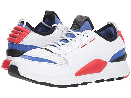 [PUMA(プーマ)] メンズランニングシューズ?スニーカー?靴 Rs-0 Sound Puma White/Dazzling Blue/High Risk Red 13 (31cm) D - Medium