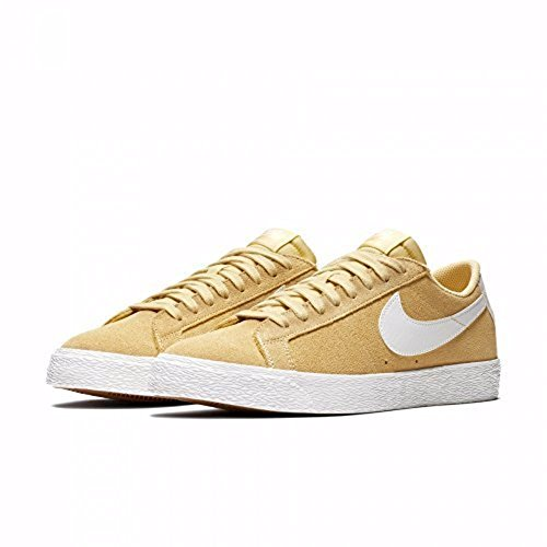 Nike SB Zoom Blazer Low Mens Fashion-Sneakers 864347-700_11.5 - Lemon WASH/Summit White-Summit White ()