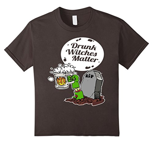 Kids Drunk Witches Matter Funny T Shirt Halloween Party 10 (Funny Tombstones Sayings For Halloween)