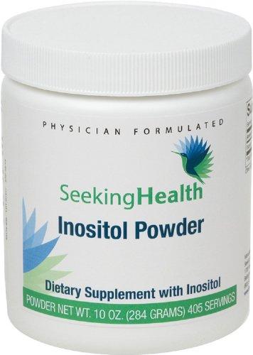 Инозитол порошок | Обеспечивает 700 мг чистого и естественного инозитол | 10 унций (284 грамм) | 405 порций | Бесплатно распространенные аллергены | Ищу Здоровье