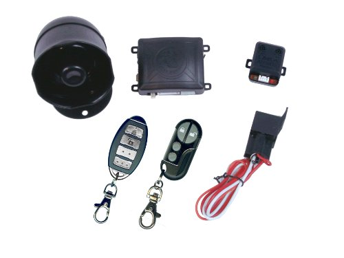 K9 MUNDIALSSX 1-Way Car Alarm Security System with 16 Programmable Features by K9