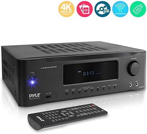 5 2 Channel Hi Fi Bluetooth Stereo Amplifier