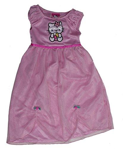 Hello Kitty Girls 2-6X Nightgown 3T Light Pink