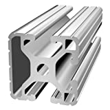 80/20 Inc., 1503, 15 Series, 1.5'' x 1.5'' Tri-Slot T-Slotted Extrusion x 97''