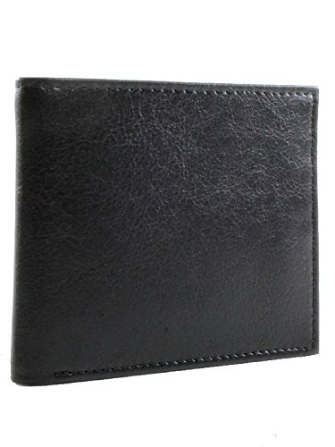 Will's Vegan Shoes Mens Billfold wallet Black