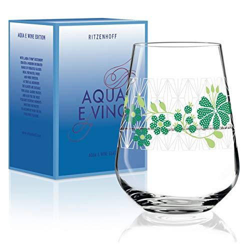 3c9fb56db29 Burkhard Neie RITZENHOFF Aqua e Vino Crystal Glass Water and Wine Glass 540  ml Modern Design