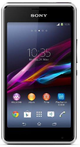 Sony Xperia E1 Dual Smartphone (10,2 cm (4 Zoll) TFT-Display, 1,2GHz Dual-Core, 3 Megapixel Kamera, Dual-SIM, Android 4.3) weiß