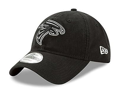 "Atlanta Falcons New Era NFL 9Twenty ""Twill Core Classic"" Adjustable Black Hat by New Era"
