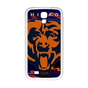 Cool painting Chicago Bears Fashion Comstom Plastic case cover For Samsung Galaxy S4