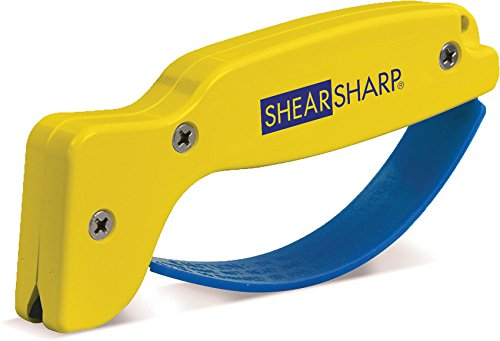 ACCUSHARP ShearSharp Scissor Sharpener, Yellow