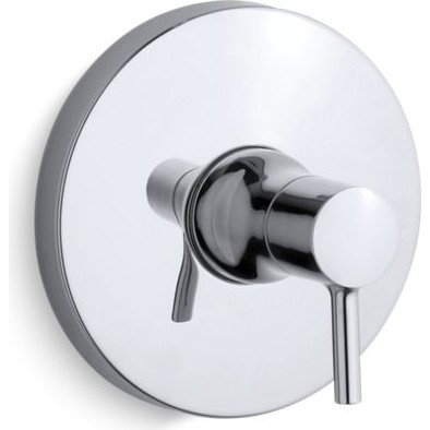 Kohler TS8981-4-CP Rite-Temp Valve Trim With Lever Handle by Kohler