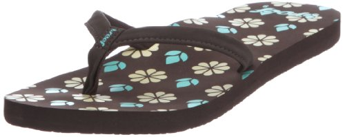 Reef SHORE-T R1549WHP - Chanclas para mujer Marrón (Braun (BROWN/TURQUOISE/YELLOW))