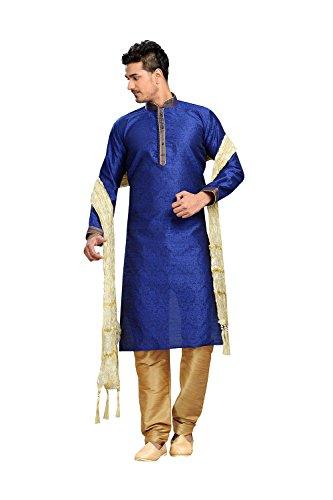 daindiashop-USA Kurta Pajama For Men Indian Designer Wedding Partywear Traditional Ethnic Festival Dress by daindiashop-USA