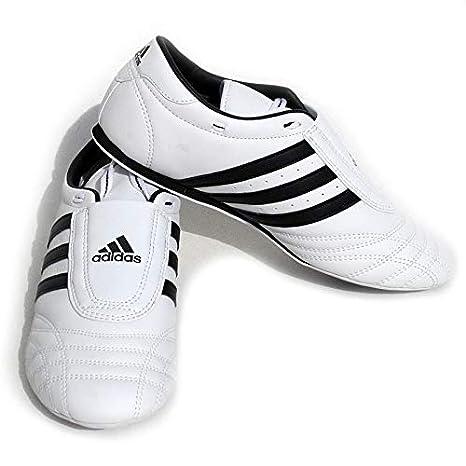 Amazon.com : adidas SM II SHOES - white w/black stripes - 5 : Sports & Outdoors