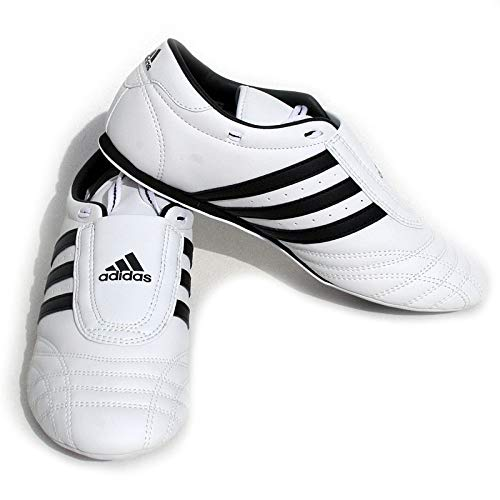 Amazon.com : adidas SM II SHOES - white w/black stripes - 5 : Sports & Outdoors