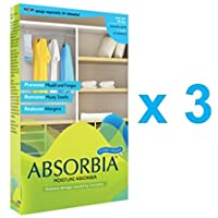 Absorbia Charcoal Hanging Pouch Family pack