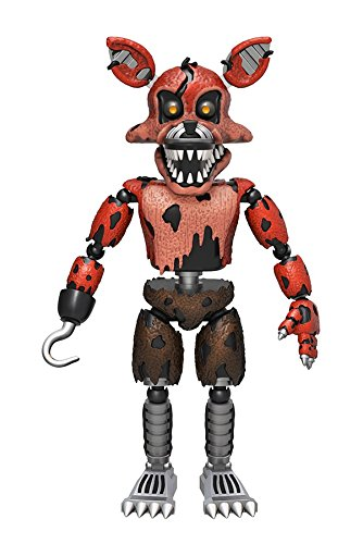 """Funko 5"""" Articulated Five Nights at Freddy's - Nightmare Foxy Action Figure"""
