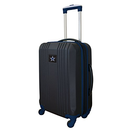 NFL Dallas Cowboys Round-Tripper Two-Tone Hardcase Luggage Spinner