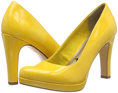 Femme 1 018 1 saffron Escarpins 22426 22 Jaune Patent 681 Tamaris Y16xAgA