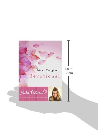 Live Original Devotional: Amazon.co.uk: Sadie Robertson: 9781501126512: Books