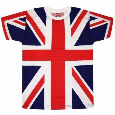 ユニオンジャックフラグAll Over PrintユニセックスTシャツ B00T1NMOOWSmall (Chest Size 37\
