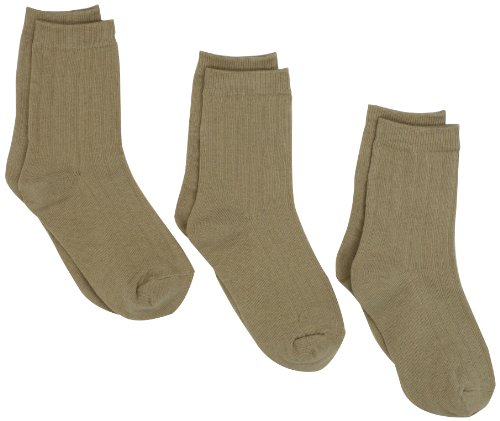 Jefferies Socks Little Boys Ribbed Crew Sock Three-Pack