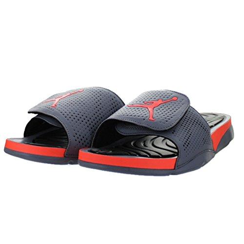d757a7ecb63 Nike Jordan Men's Jordan Hydro 5 Cool Grey/Hyper Orange/Black Sandal 9 Men  US