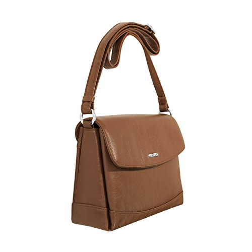PICARD Dames Pocket Peau Sac à bandoulière Really Cognac 8206 c25b07fbb4