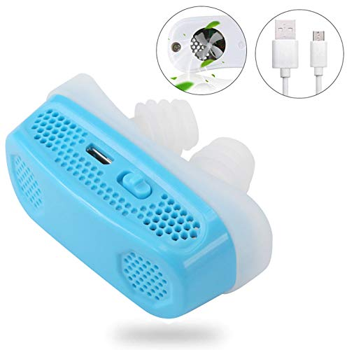3 in 1 Electronic Anti Snoring Devices,Air Purifier[2019 Upgraded ]Natural Solution to Prevent Snoring and Purify Breath air PM2.5 Filter for Ease Breathing Comfortable Sleeping