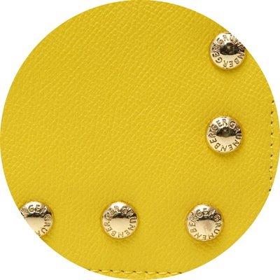 GRUNENBERGER, Borsa a spalla donna Giallo jaune lemon