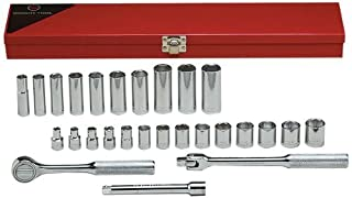 "Wright Tool 377 3/8"" Drive 6 Point Standard and Deep Socket Set (27-Piece) (B00279T63Y) 