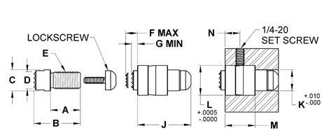 ACG-0240-F Fairlane Accugrip Adjustable Gripper 1//2-20 Flat