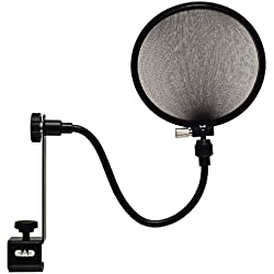cad u37 usb studio condenser recording microphone with cad epf 15a pop filter bundle. Black Bedroom Furniture Sets. Home Design Ideas