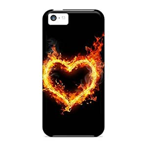 Snap-on Case Designed For Iphone 5c- Hot Love