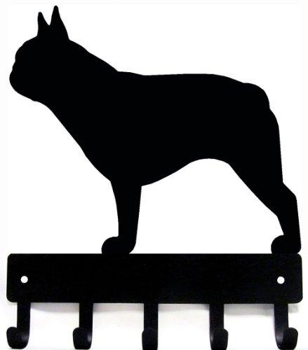 French Bulldog Key Rack/ Dog Leash Hanger - Artisan Metal Shop Gifts & Awards - Large 9 inch wide