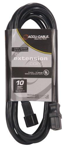 ADJ Eccom-10 IEC Extension Cord 10 ft